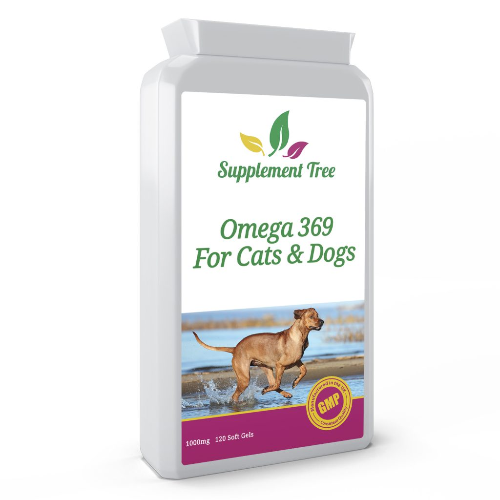 Omega 369 Cats & Dogs 1000mg 120 Capsules