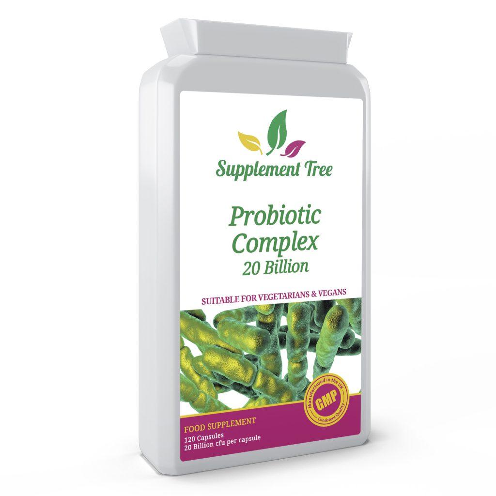 Probiotic complex 20 Billion CFU 120 Vegetarian Capsules